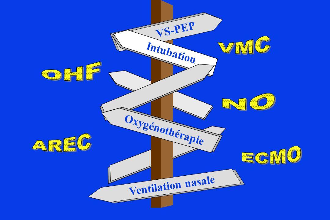 VS-PEP Intubation Oxygénothérapie Ventilation nasale