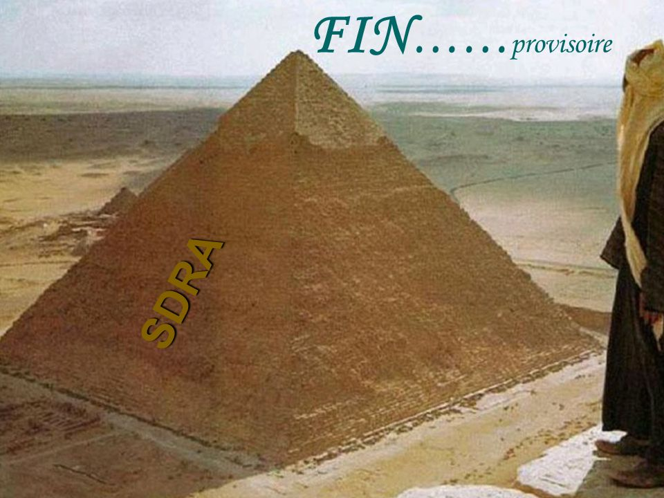 FIN …… provisoire SDRA