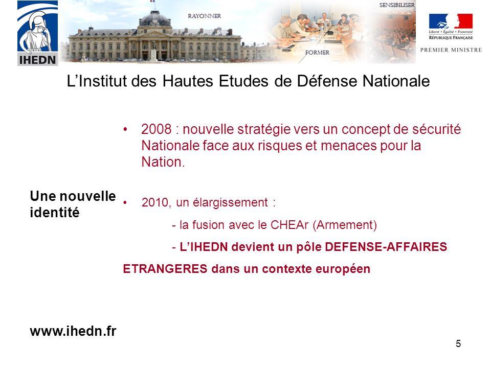 2008 : nouvelle stratégie vers un concept de sécurité Nationale face aux risques et menaces pour la Nation.