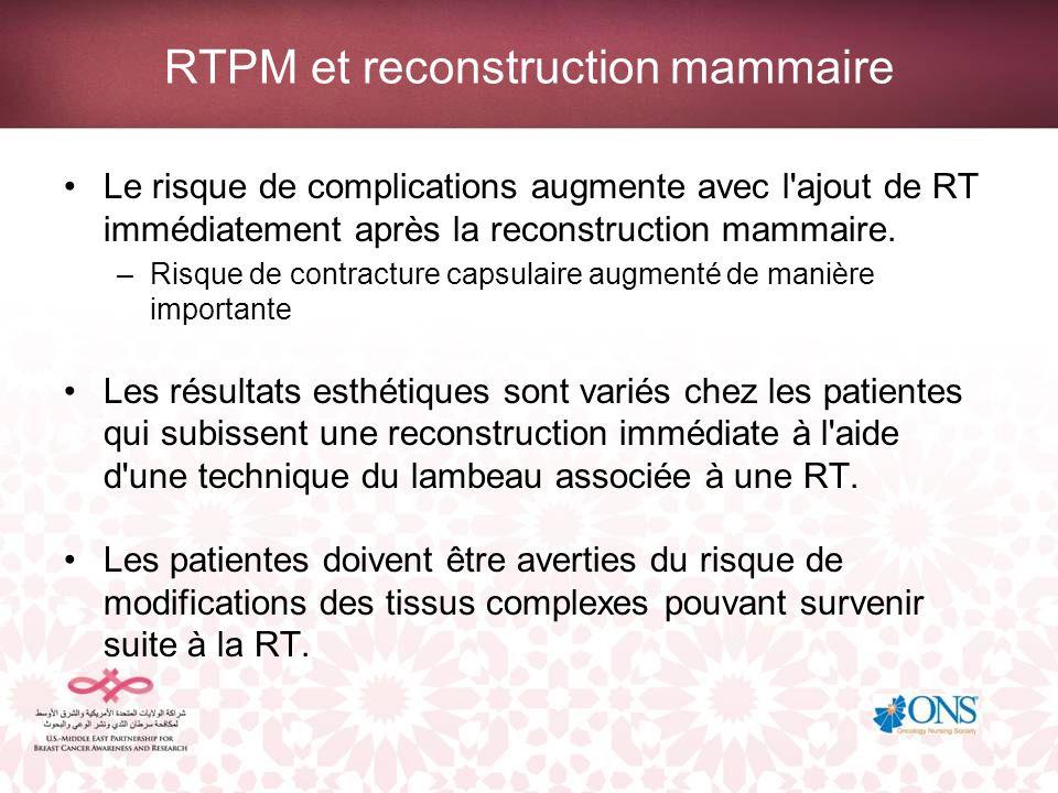 Traitement métastatique et palliatif Contrôle local de la récidive de la paroi de la cage thoracique après une mastectomie Traitement de la douleur Prévention ou stabilisation des factures osseuses pathologiques