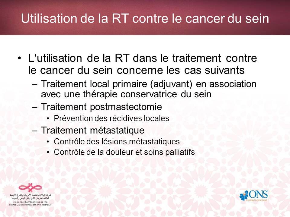 Traitement local primaire C est la méthode chirurgicale choisie pour l ablation de la tumeur qui dictera la nécessité de recourir à la RT.