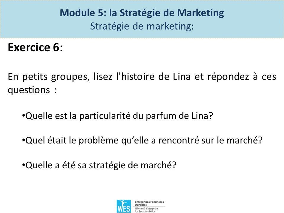 Processus de lancement – Module 5 La Planification stratégique 1.Les 5 P du marketing 2.Comment se démarquer de la concurrence.