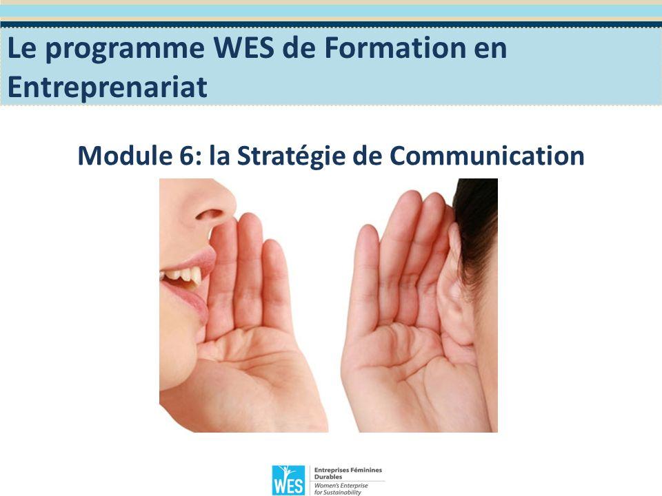 Objectifs Pédagogiques Sinitier à La stratégie de communication de lEntreprise.
