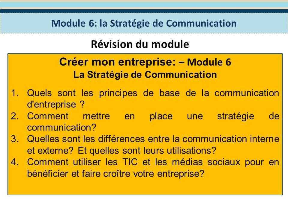 Module 7: Planification de la gestion financière Le programme WES de Formation en Entreprenariat