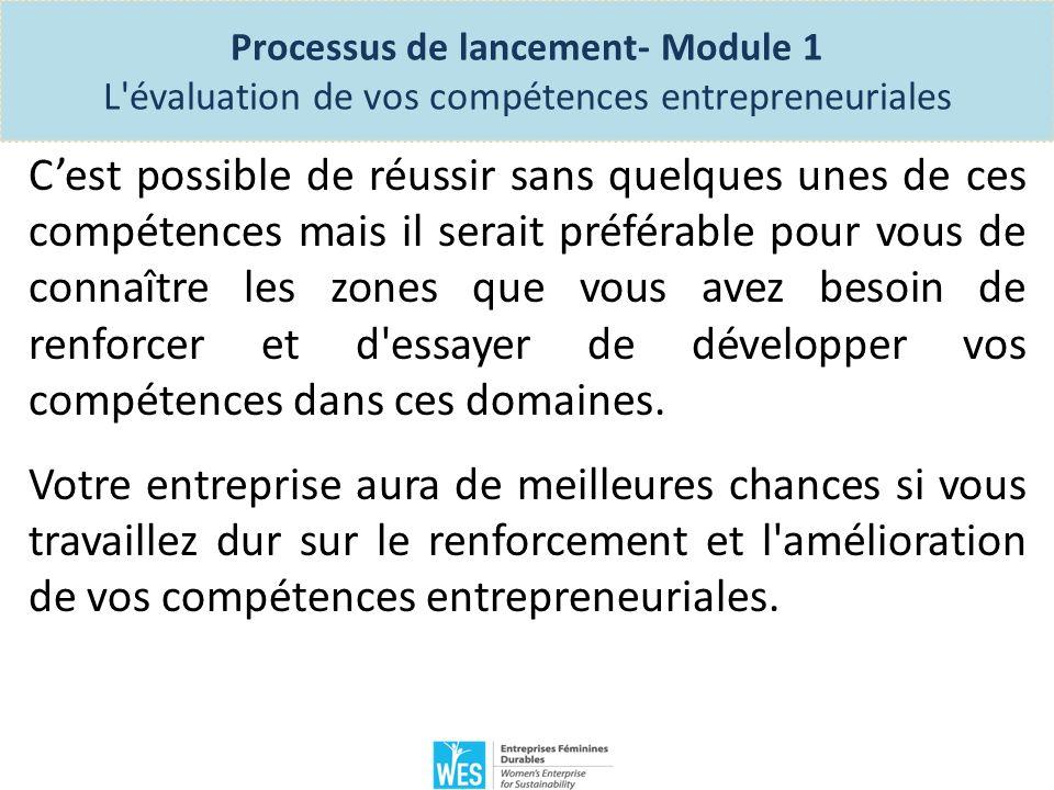 Processus de lancement- Module 1 lIdée d entreprise.