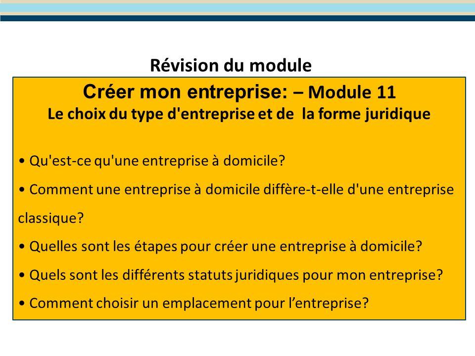 Module 12- Limplémentation de votre plan business Le programme WES de Formation en Entreprenariat