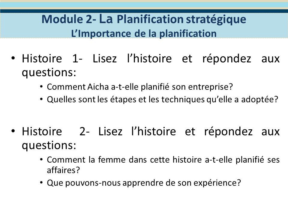 Définir la mission de votre entreprise Module 2- La Planification stratégique Définir la mission de votre entreprise La définition de votre mission dentreprise est une étape importante de votre processus de planification stratégique.