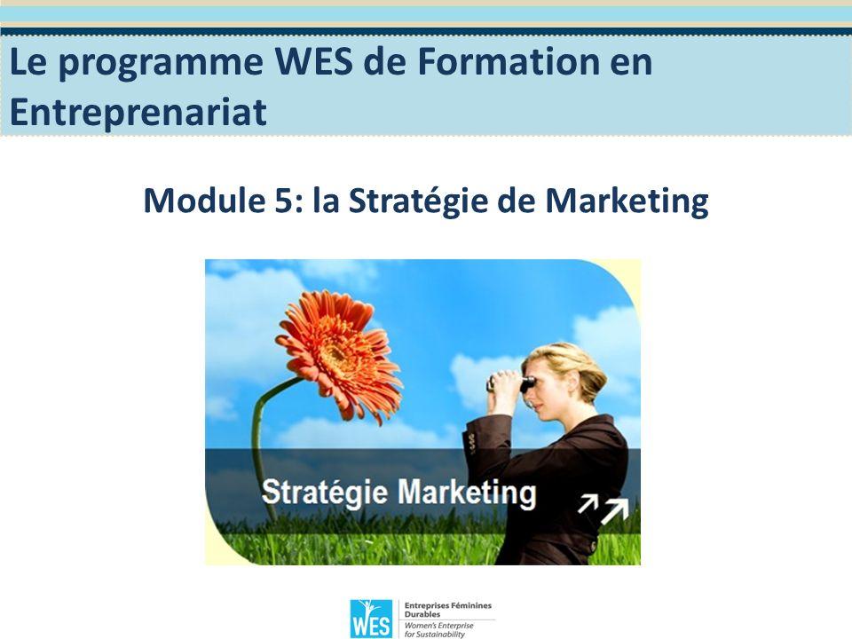 Objectifs Pédagogiques Sinitier aux bases du marketing.