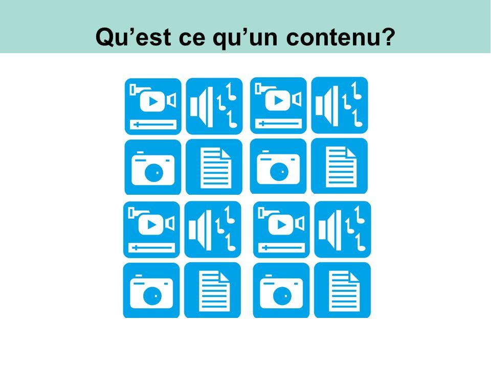 Stratégie de contenu intégré Stratégie de contenu intégré : Le processus coordonné de distribution de contenu créé et organisé à travers des différents canaux pour aller vers votre public, et les inciter à passer à l action pour atteindre vos objectifs Curation Creation Coordination Channels Audience