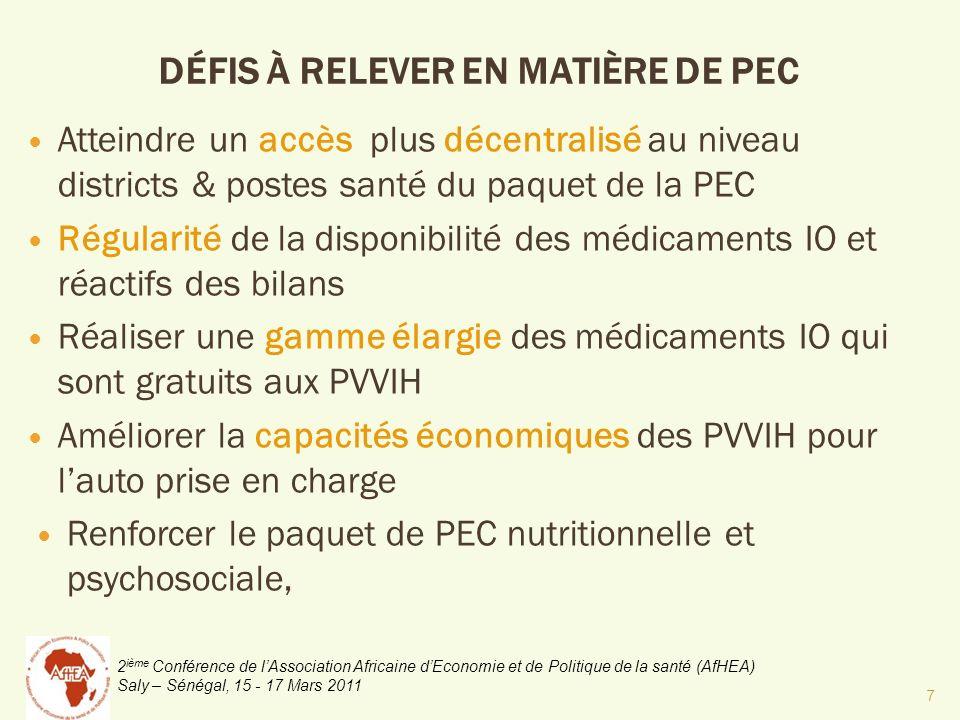 2 ième Conférence de lAssociation Africaine dEconomie et de Politique de la santé (AfHEA) Saly – Sénégal, 15 - 17 Mars 2011 JUSTIFICATION DE LINITIATIVE Contribuer à latteinte des OMD 1 et 6 Contribuer à la mise en œuvre du volet protection sociale du DSRP Contribuer au financement de la santé 8