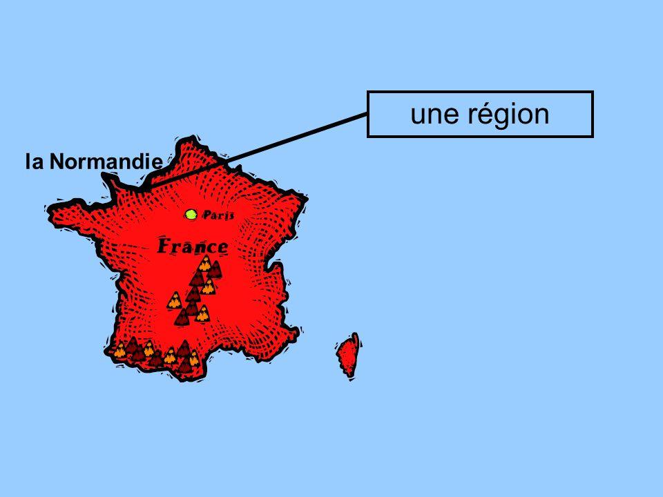 une région la Normandie