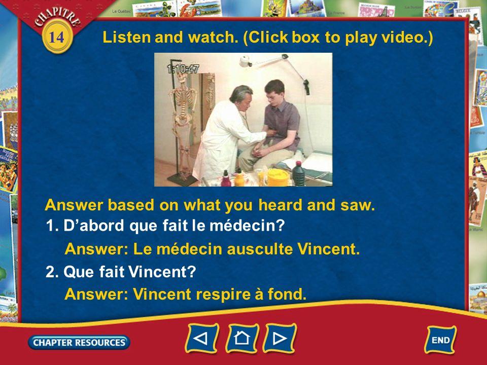 14 Le pronom en Answer each question as indicated, replacing the italicized words with en. 4. Nous allons partir du magasin? (Non) Answer: Non, nous n