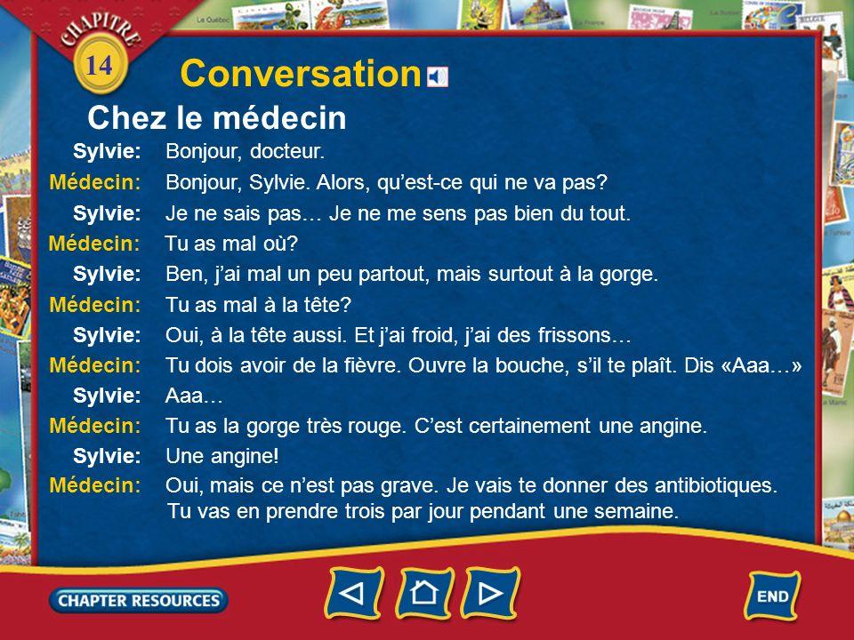 14 Conversation Chez le médecin