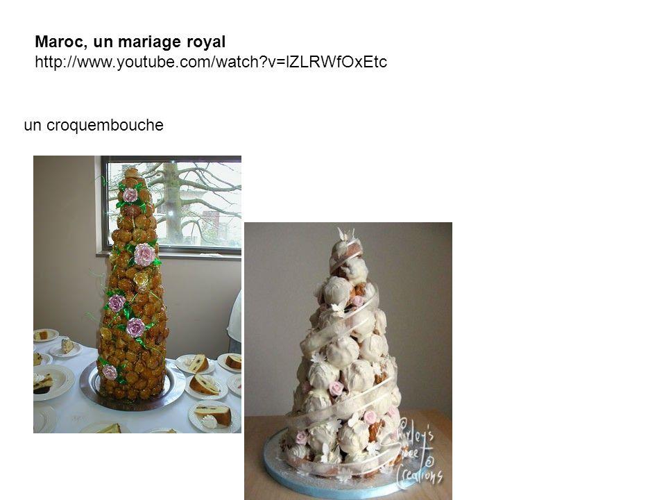 un croquembouche Maroc, un mariage royal http://www.youtube.com/watch?v=lZLRWfOxEtc
