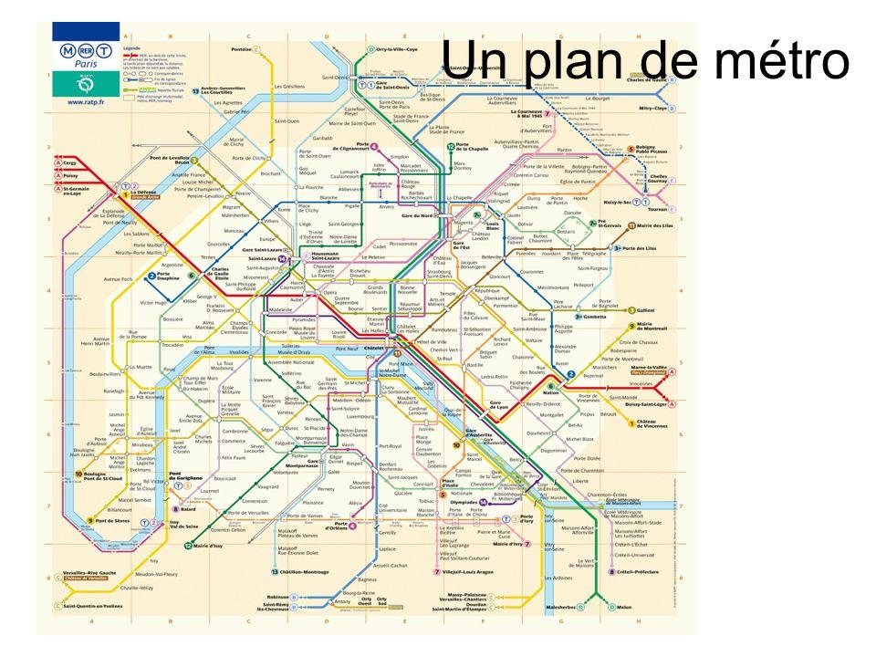Un plan de métro
