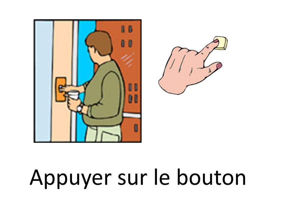 Appuyer sur le bouton