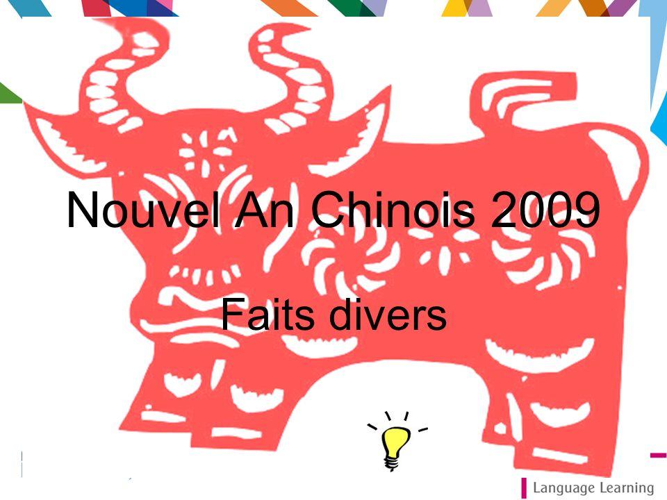 Nouvel An Chinois 2009 Faits divers