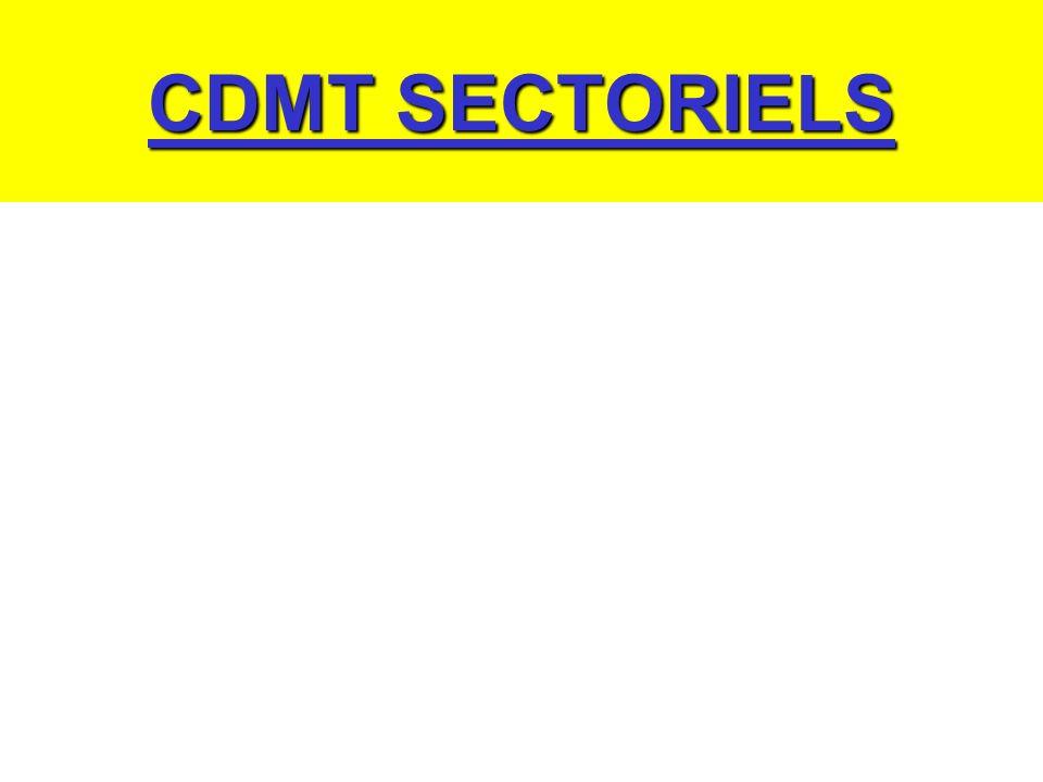 CDMT SECTORIELS