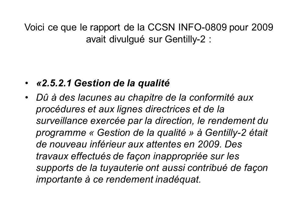 INFO-0823, suite, Hydro-Québec «…volonté à améliorer…» ….