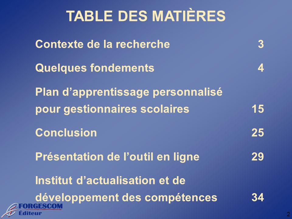 13 LAPPRENANT AU POUVOIR Michel Gravel Ph. D.