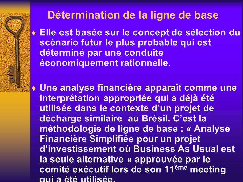 Elle est basée sur le concept de sélection du scénario futur le plus probable qui est déterminé par une conduite économiquement rationnelle. Une analy