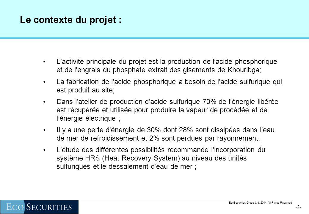 -1--1- EcoSecurities Group Ltd.