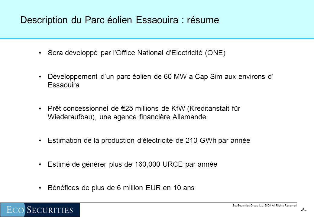 -6--6- EcoSecurities Group Ltd.