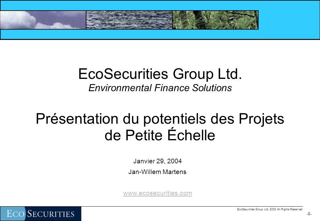 -10- EcoSecurities Group Ltd.