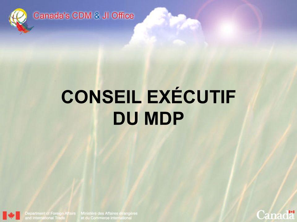 CONSEIL EXÉCUTIF DU MDP
