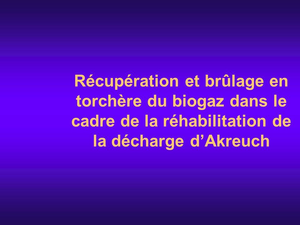 Détermination de la ligne de base Lapproche de la ligne de base adoptée est loption 48.b de la déclaration de Marrakech: cest le scénario présentant « les émissions de la technologie qui constitue une alternative économique attrayante et tient compte des barrières dinvestissement » Cette approche peut être appliquée comme méthodologie de ligne de référence.