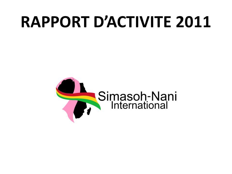 RAPPORT DACTIVITE 2011