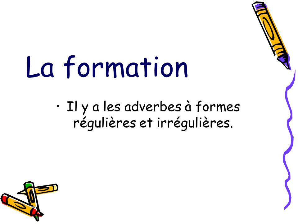 5.L adverbe se place après ou avant l infinitif. L adverbe bien se place devant l infinitif.
