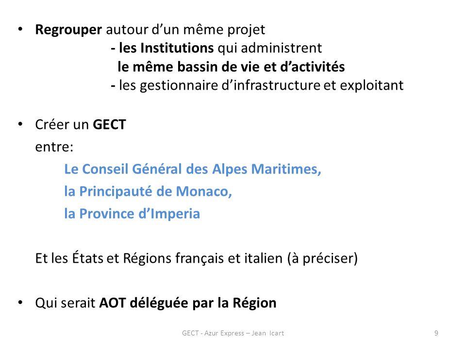 Deux voies ferrées transfrontalières GECT - Azur Express – Jean Icart10