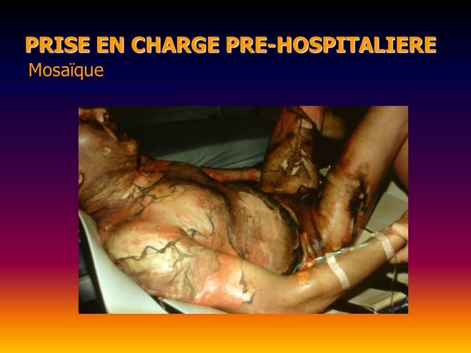 Mosaïque PRISE EN CHARGE PRE-HOSPITALIERE