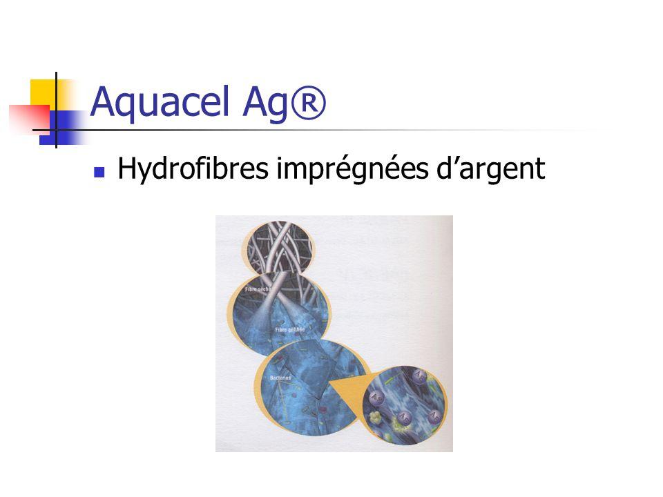 Aquacel Ag® Hydrofibres imprégnées dargent