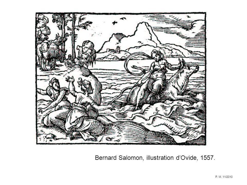 Bernard Salomon, illustration dOvide, 1557. P. M. 11/2010