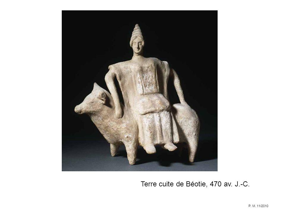 Terre cuite de Béotie, 470 av. J.-C. P. M. 11/2010