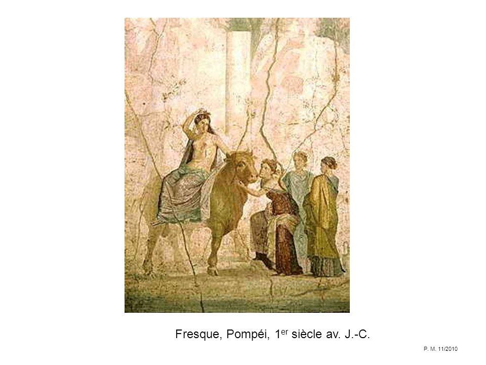 Fresque, Pompéi, 1 er siècle av. J.-C. P. M. 11/2010