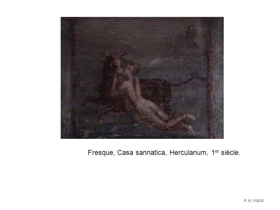 Fresque, Casa sannatica, Herculanum, 1 er siècle. P. M. 11/2010