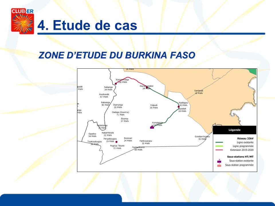 4. Etude de cas ZONE DETUDE DU BURKINA FASO