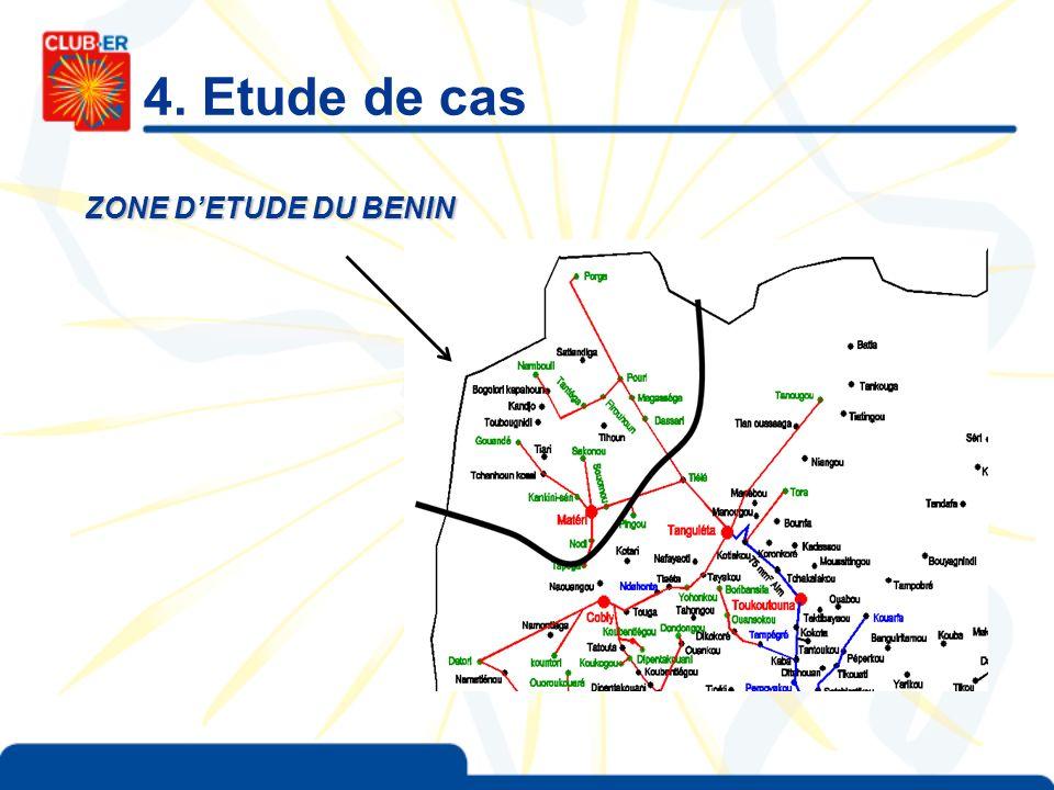 4. Etude de cas ZONE DETUDE DU BENIN