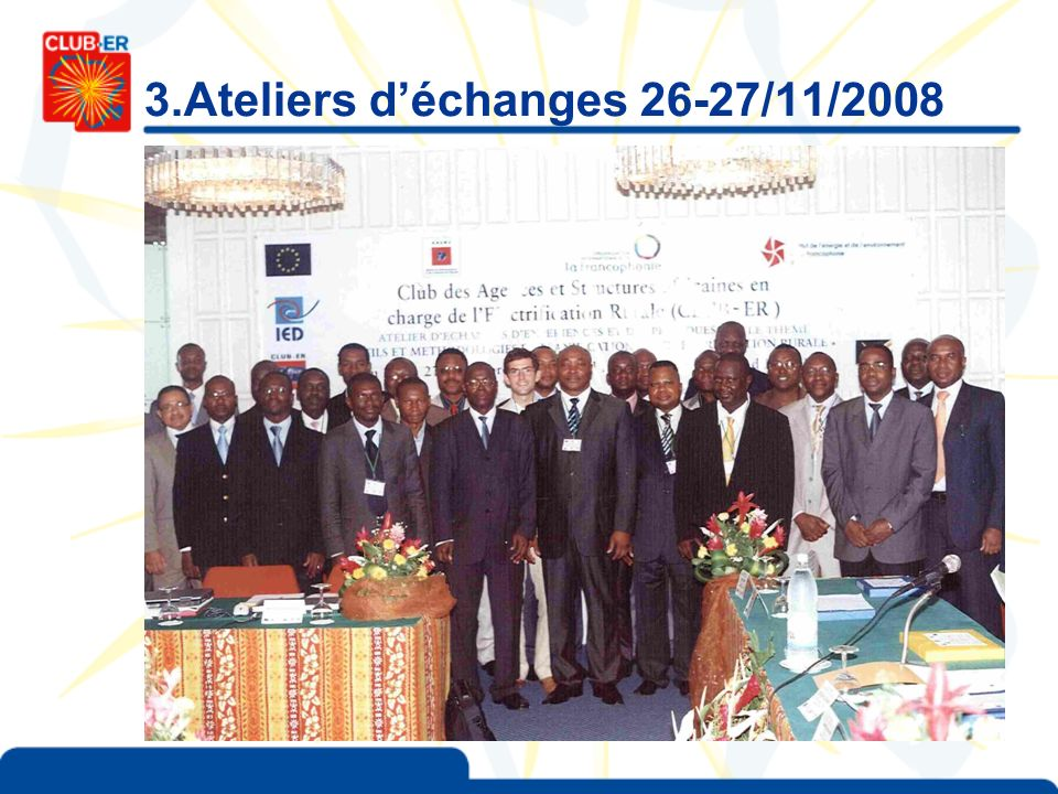 3.Ateliers déchanges 26-27/11/2008