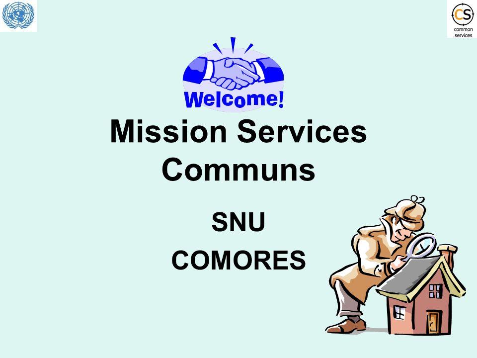 Mission Services Communs SNU COMORES