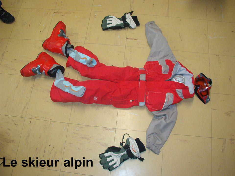 Le skieur alpin