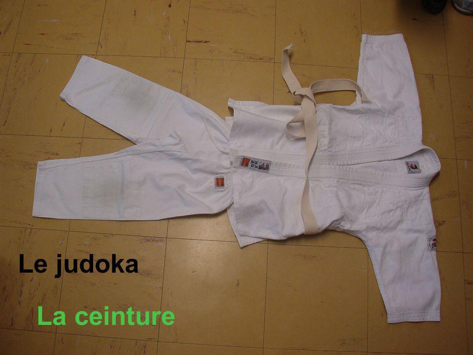 Le judoka La ceinture