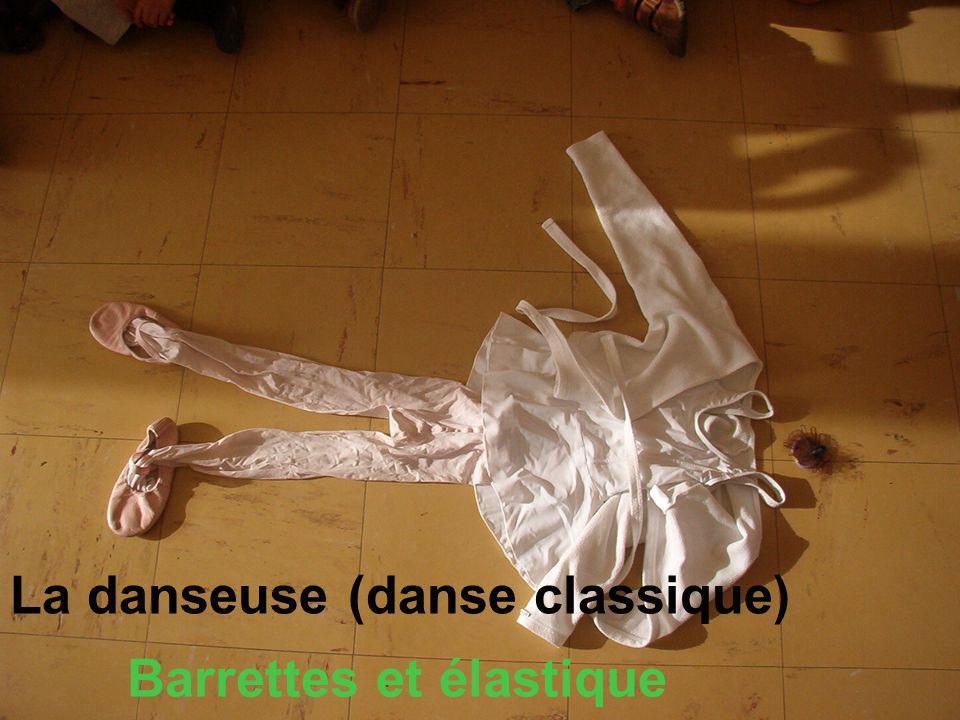 La danseuse (danse classique) Barrettes et élastique