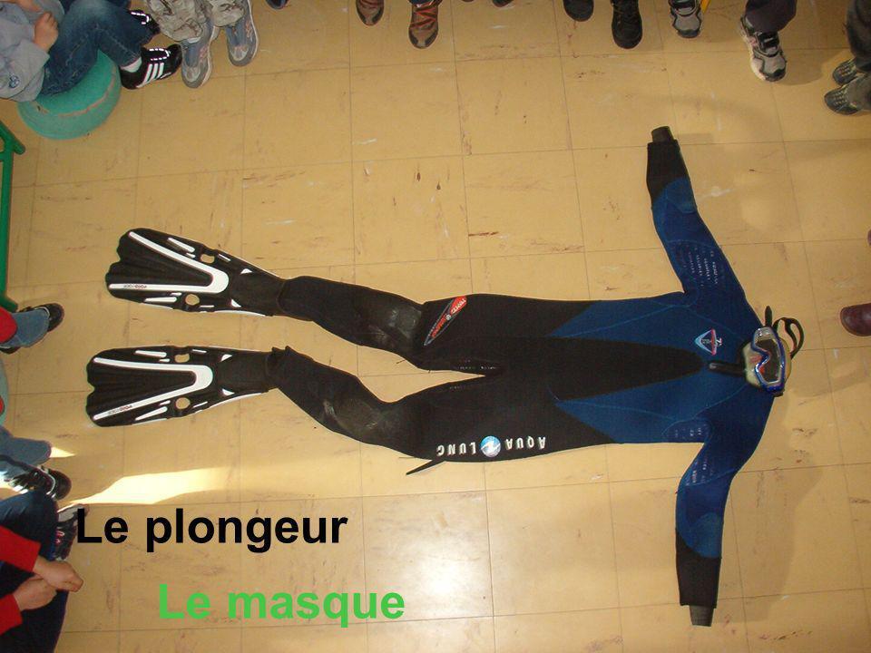Le plongeur Le masque