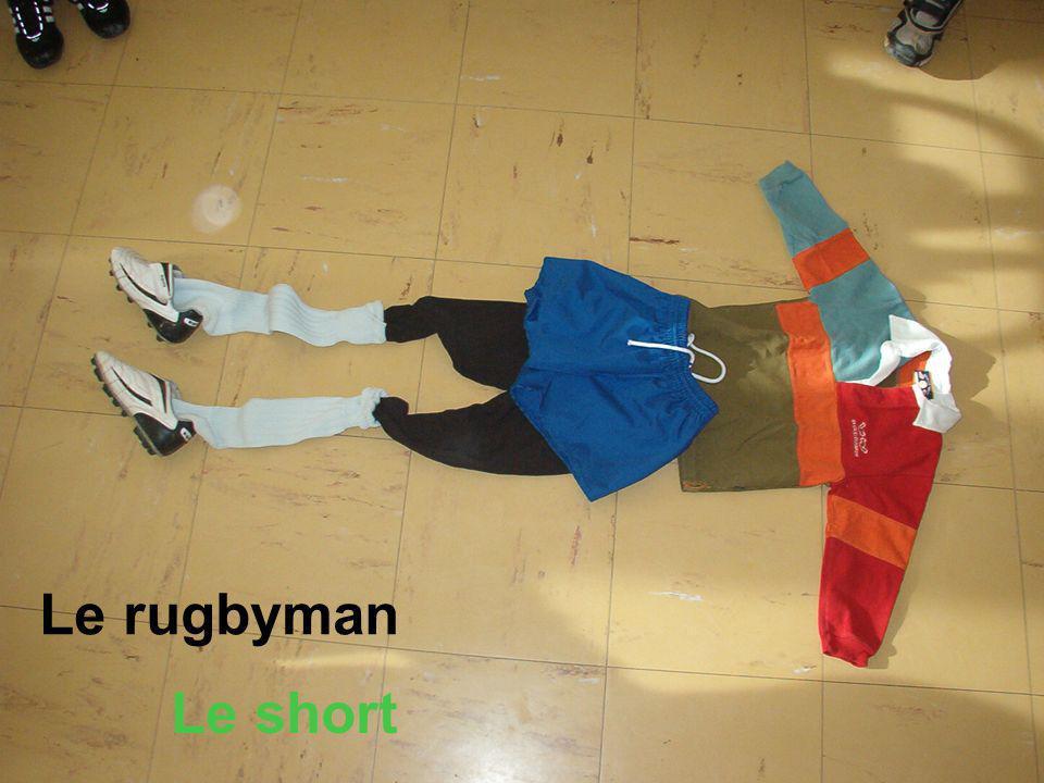 Le rugbyman Le short