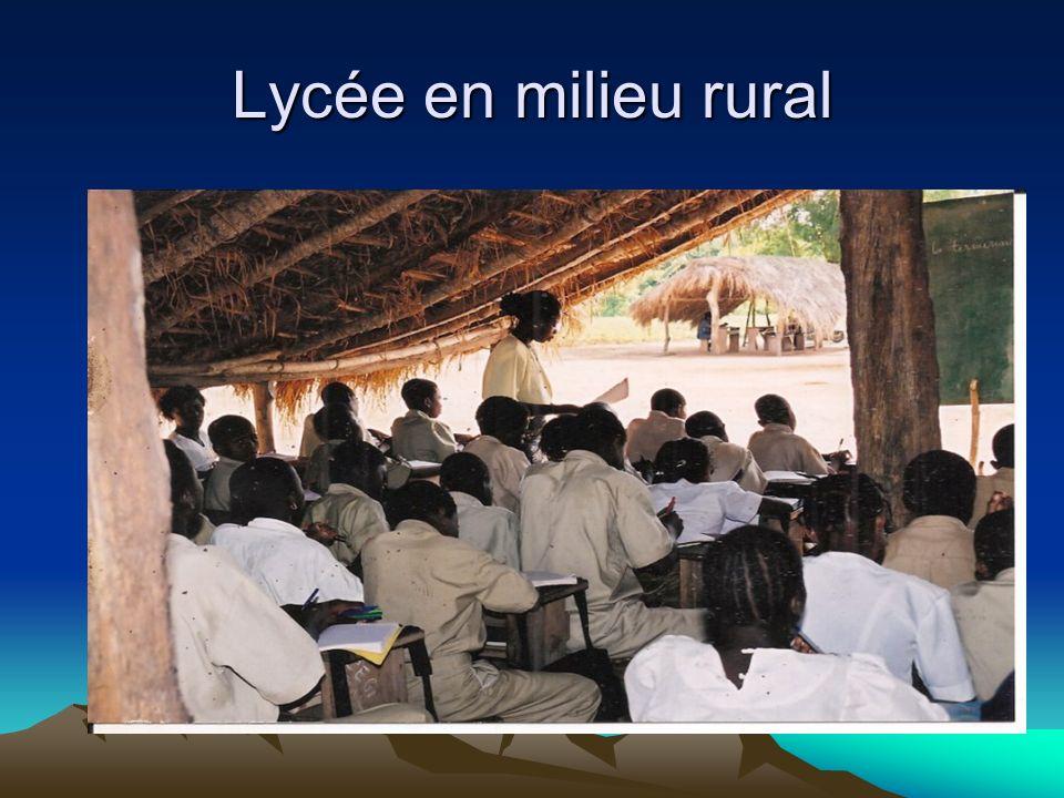 Lycée en milieu rural