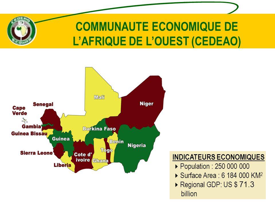 PROGRAMME DACTIVITES 2007-2011 - la valeur ajoutée que peut apporter la banque dans la réalisation des programmes et projets communautaires - la facilitation des transports et du transit intra-régional et la promotion dun environnement favorable aux affaires ; - lémergence et le développement dun marché financier régional ; - les perspectives de la monnaie unique